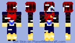 errortale mettaton Minecraft Skin