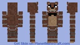 FNAF - Freddy Minecraft Skin