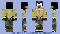Halloween Town Goofy (Kingdom Hearts) Minecraft Skin