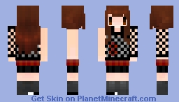 Iikuno Haruna - One and Only Minecraft Skin
