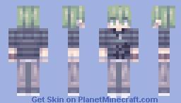 DRV3: Rantaro Amami Minecraft Skin