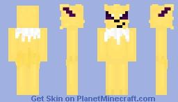 Pokémon Jolteon Minecraft Skin
