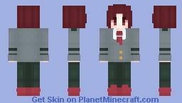 Kirishima (BNHA) Minecraft Skin