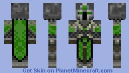 Emerald Knight Minecraft Skin