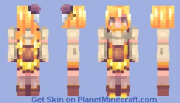 Mami Tomoe - Puella Magi Madoka Magica Minecraft Skin