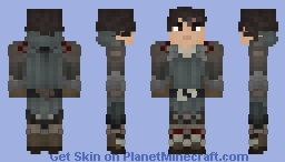 Olberic, the Warrior [Octopath Traveller] Minecraft Skin