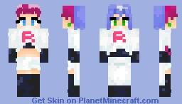 • Team Rocket - Jessie & James • (Super Villains Contest) Minecraft