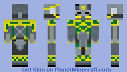 Old Knight of the Temple Minecraft Skin