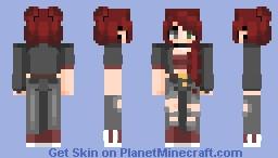 ~«Fridæ - The Phoenix - OC - Poppyreeeel~ Minecraft Skin