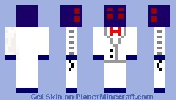 Spider Guy Minecraft Skin