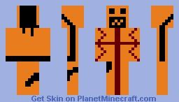 Evil Jack o Lantern Minecraft Skin