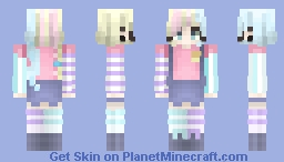 ◊ P∆n∂∆ ◊ We Could All Use A Little More Colour Minecraft Skin
