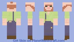 Coal Miner Minecraft Skin