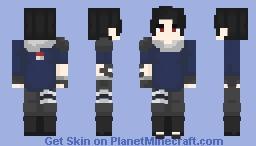 Custom Uchiha | Naruto Shinobi Minecraft Skin