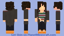 short haired human Minecraft