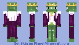 he doesn't look very menacing does he - cs Minecraft Skin