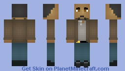 Joe West (Shaded) Minecraft Skin