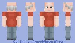 ✌︎ Fat Grandfather ✌︎ Minecraft Skin