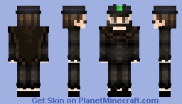 [𝕎𝕚𝕝𝕕] The EVIL Bowler Hat Guy! Minecraft Skin