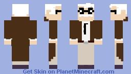 Batman: The Animated Series - Commissioner Gordon Minecraft Skin