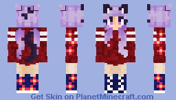 catlovekitty ( different version ) :) Minecraft Skin