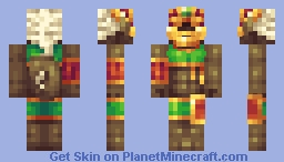 Wue'Coong, Elder Goddess of the Ravenous Jungle Minecraft Skin