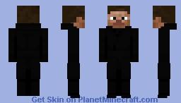 Casual Steve Minecraft Skin