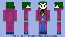 The Joker (1.8) Minecraft Skin