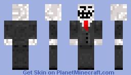 troll in suit Minecraft Skin