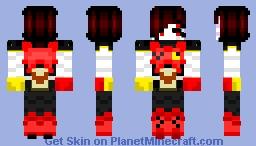 underfell mettaton Minecraft Skin