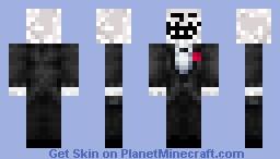 troll in handsome suit Minecraft Skin