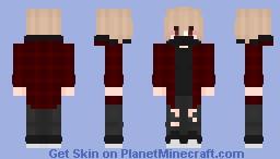 Villan Bakugo Minecraft Skin