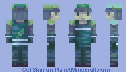 Cardboard recycling point Minecraft Skin