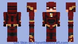 The flash (JL 2017) Minecraft Skin