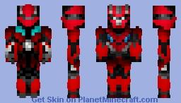 DOTM Dino/Mirage Minecraft Skin