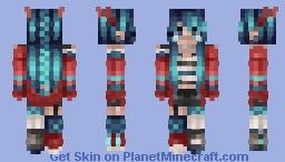 Rouge // Jadeite Minecraft Skin