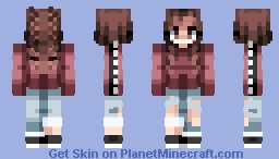 ♡ мє ♡ ~Inspirinq (200 Subs Face Reveal) Minecraft Skin