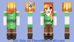 ~✿~ Alex got hot ! || Original Alex MC skin makeover Minecraft Skin