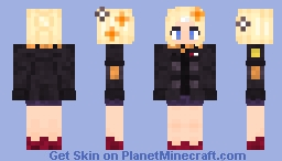 Fate/GO Traveling Outfit Abigail Williams Minecraft Skin