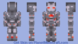 War Machine Minecraft Skin
