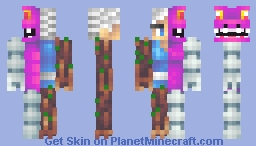 Animal-Vegetable-Mineral-Man Minecraft Skin