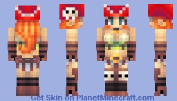 Redd Pirate Lass Minecraft