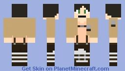 Eren Yeager Minecraft Skin