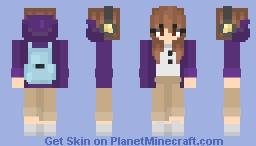 Back To School! ~ яσѕє Minecraft Skin