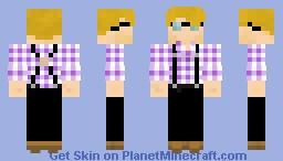 Bartender Nessie Minecraft Skin