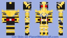 Kamen Rider Blade King Form Minecraft Skin