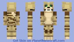 Kada the serval [For a friend] Minecraft Skin