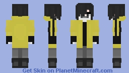 Captain Disillusion (Youtuber) Minecraft Skin