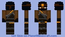 Cole - Season 9 (Mask Off in Desc.) Minecraft Skin