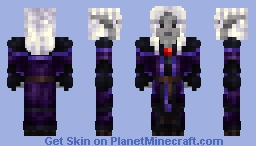 Dark Elf Minecraft Skin
